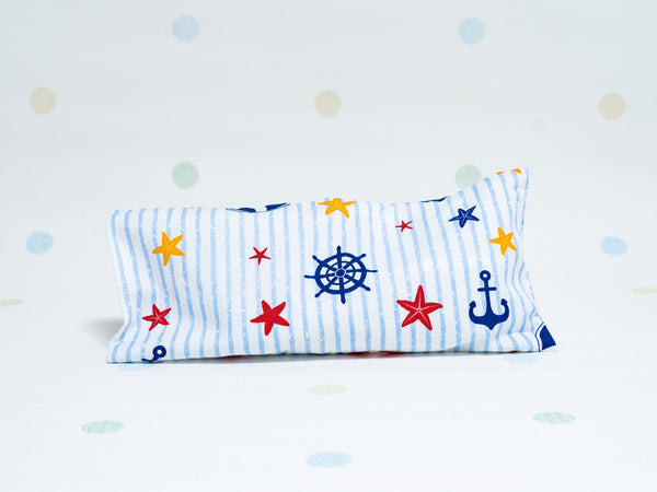 Beansprout Husk Pillow - Nautical Anchor