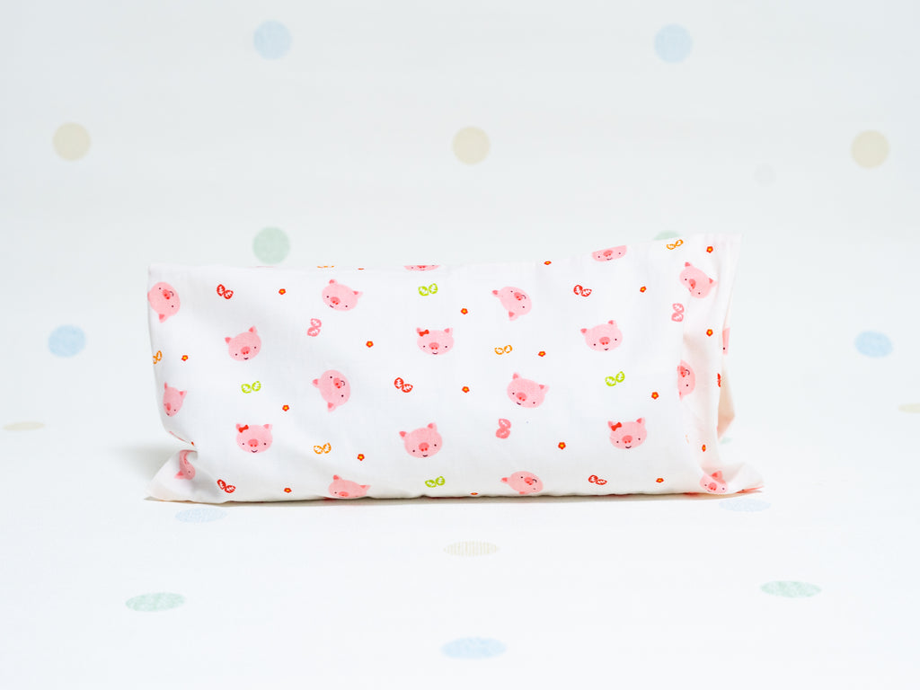 Beansprout Husk Pillow - Piggy