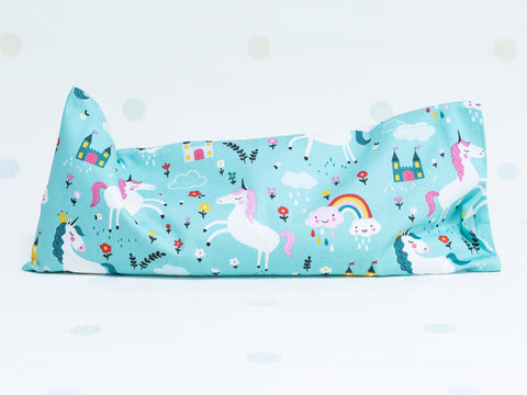 Beansprout Husk Pillow - Unicorns Rainbows