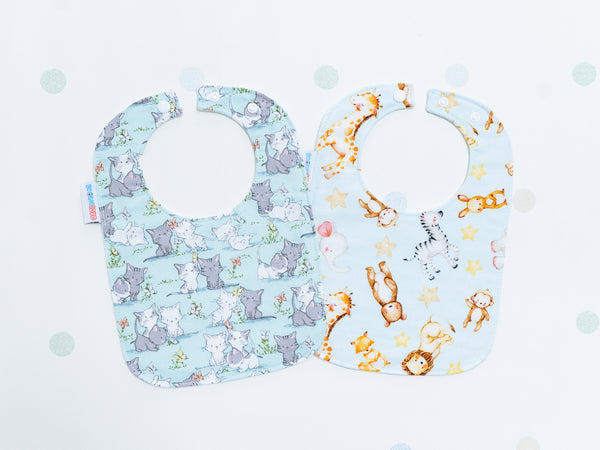Baby Bib - Baby Animals