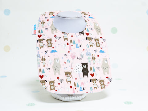 Baby Bib - Happy Little Friends