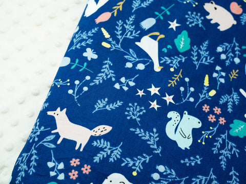 Minky Blanket - Magical Forest