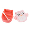 Lunch box rose hibou chouette girly kawaii