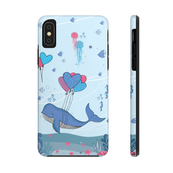 Impact-Resistant Phone Case for iPhone X – Under-The-Sea