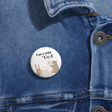 Inspirational Christian-Themed Pin Buttons – Child of God - Woodland Animals