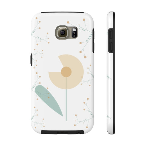 Impact-Resistant Phone Case for Samsung Galaxy S6 – Woodland Flower
