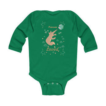 Forever Loved – Fox – Infant & Toddler Long-Sleeve Bodysuit - Unisex