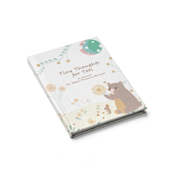 Tiny Thoughts for Tots - Hardcover Journal - Blank Pages to Record Your Baby's Precious Moments