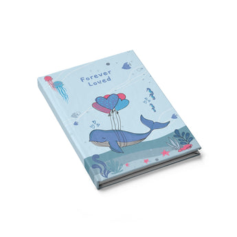 Forever Loved – Under-The-Sea Hardcover Journal - For Your Baby's Precious Moments