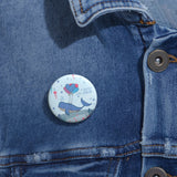Inspirational Pin Buttons – A Family's Love is Forever – Under-The-Sea