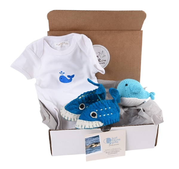 Baby Gifts that Give Back - Socially Responsible Gifts - Save the Whales