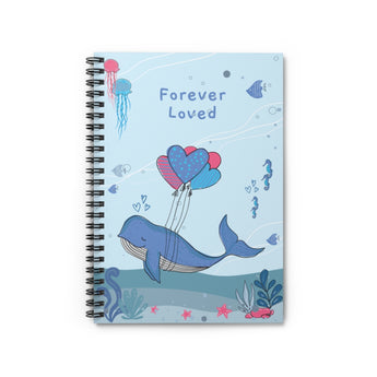 Forever Loved – Spiral Notebook – Lined – For Baby's Precious Moments