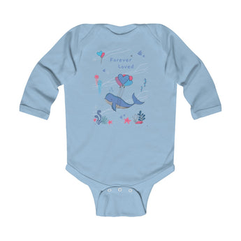 Forever Loved – Under-The-Sea – Infant & Toddler Long-Sleeve Bodysuit