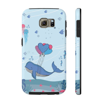 Impact-Resistant Phone Case for Samsung Galaxy S6 – Under-The-Sea