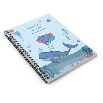 Cherish Every Moment – Spiral Notebook – Lined – For Baby's Precious Moments