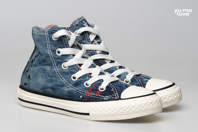 Converse Allstar Chucks Hi OX Denim Kids