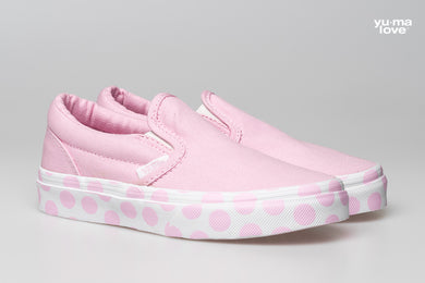 Vans UY Polka Dot Kids Slip On