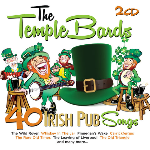 40 Irish Pub Songs - The Temple Bards
