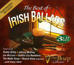 The Best of Irish Ballads (3CD Set) - Various Artists