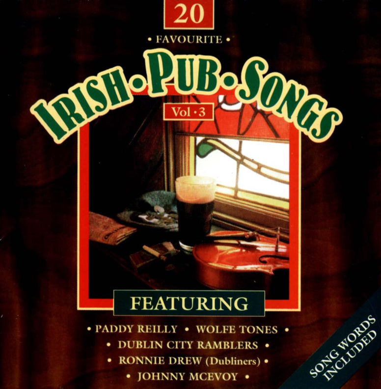 20 Favourite Irish Pub Songs (Volume 3) - Volume