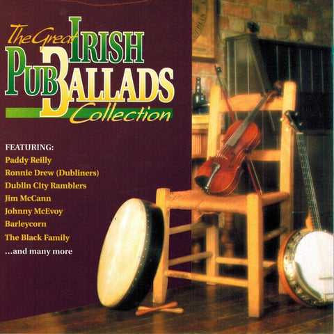 The Great Irish Pub Ballads Collection - Various