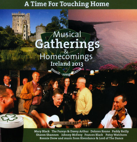 A Time For Touching Home - Musical Gatherings and Homecomings - Various