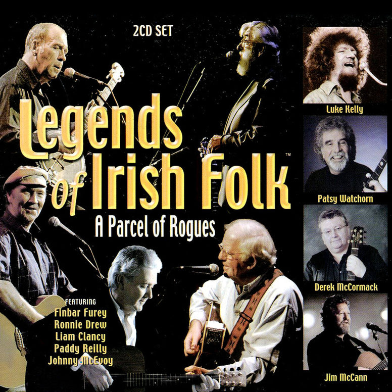 Legends of Irish Folk - A Parcel of Rogues - Various
