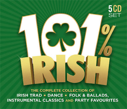 101% Irish (5CD Set) - Various