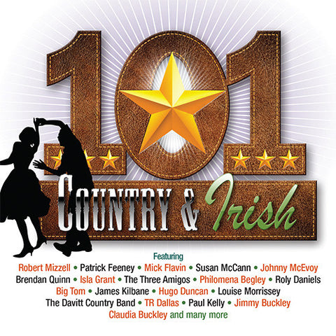 101 Country & Irish (5CD Set) - Various