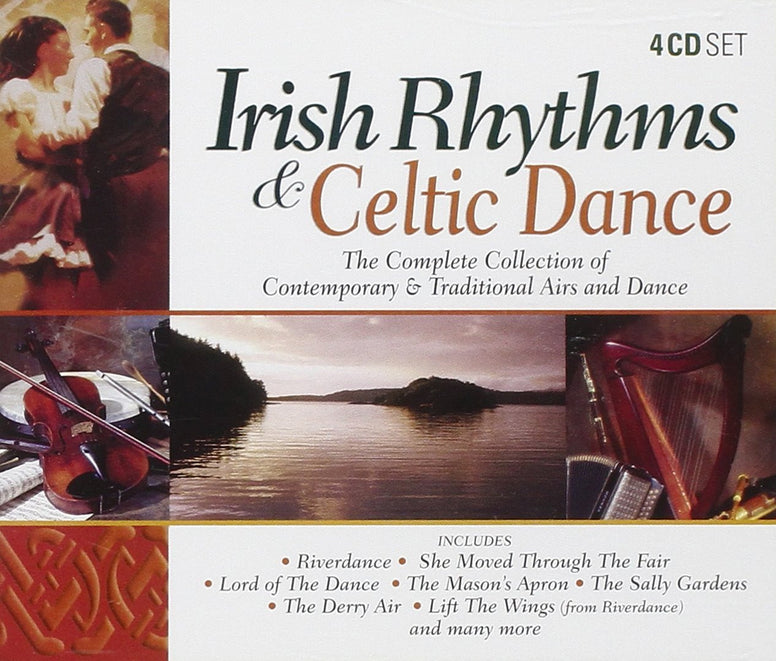 Irish Rhythms & Celtic Dance (4CD Set) - Various