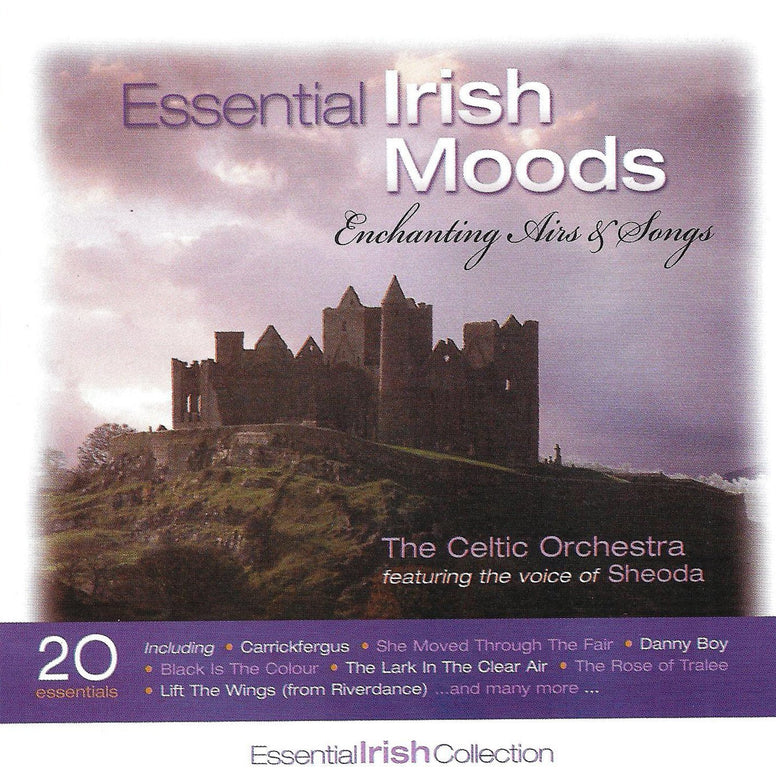 Essential Irish Moods - The Celtic Orchestra featuring Shoeda