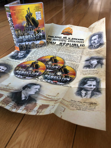 REBELLION 3CD Set with Proclamation