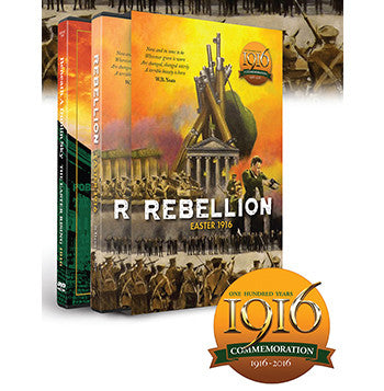 Easter 1916 REBELLION - 3CD & DVD Gift Set - Various