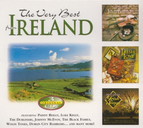 The Very Best From Ireland (3CD Set) - Various