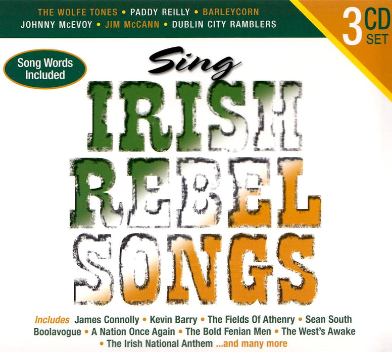 Sing Irish Rebel Songs (3CD Set) - Various