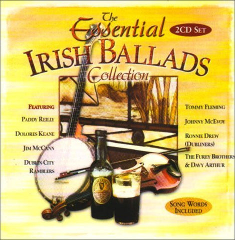 The Essential Irish Ballads Collection (2CD Set) - Various