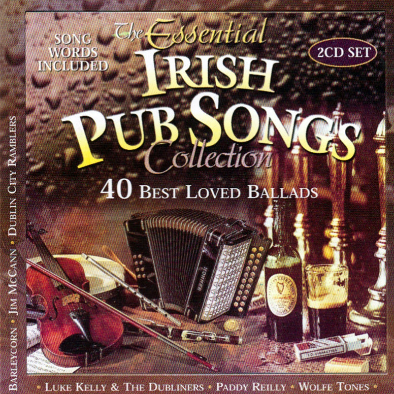 The Essential Irish Pub Songs Collection (2CD Set) - Various