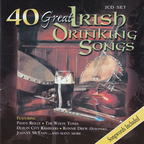 40 Great Irish Drinking Songs (2CD Set) - Various