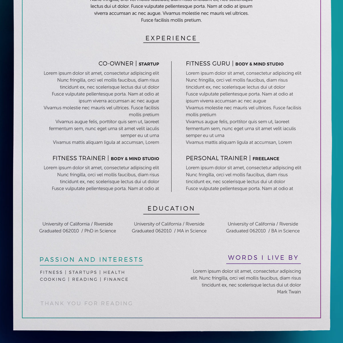 Famous Prop Trader Resume Examples Model Resume Template Samples