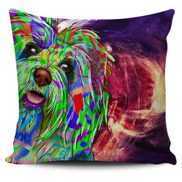 Bichon Havanese Dog Breed Pillow Covers (Abstract Designs)