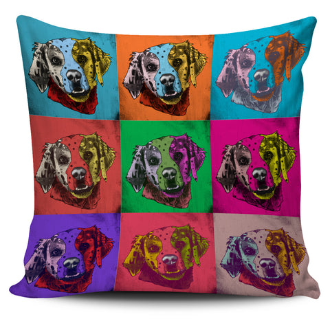 Brittany Dog Breed Pillow Covers (Andy Warhol Pattern)