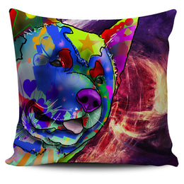 Akita Dog Breed Pillow Covers (Abstract Designs)