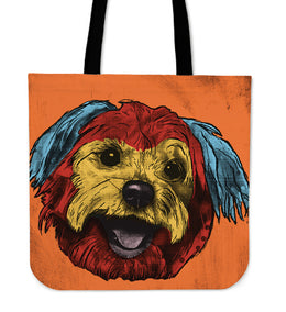 Yorkshire Terrier Dog Breed Tote Bag (Andy Warhol Style)