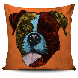 Boxer Dog Breed Pillow Covers (Andy Warhol Style)