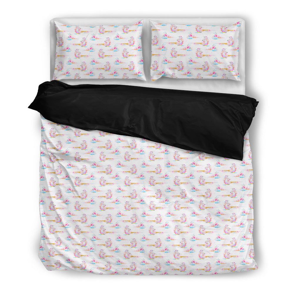 Unicorn Mania Bedding Set - Duvet, Pillow Cases [Twin / Queen / King Size]