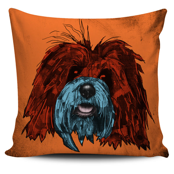Bichon Havanese Dog Breed Pillow Covers (Andy Warhol Style)