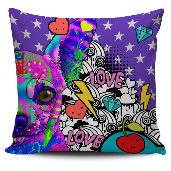 Chihuahua Dog Breed Pillow Covers (Fun Love Carnival)