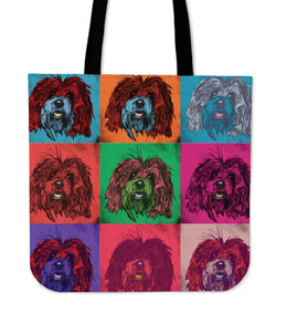 Bichon Havanese Dog Breed Tote Bag (Andy Warhol Pattern)