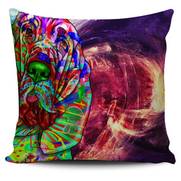 Bloodhound Dog Breed Pillow Covers (Abstract Designs)