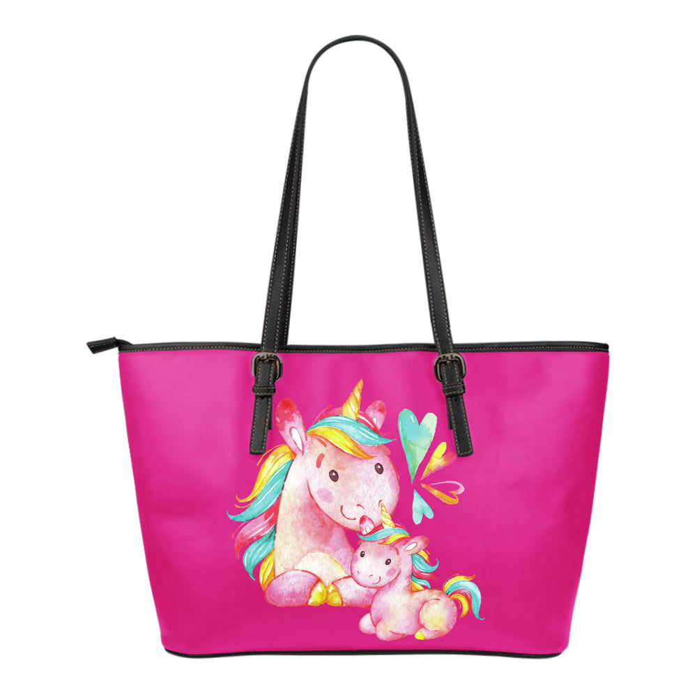 Unicorn Family Leather Totes (Small)